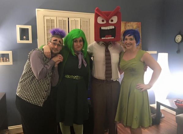 Inside Out Halloween Costume cosplay